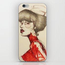 Nurse Paz iPhone Skin