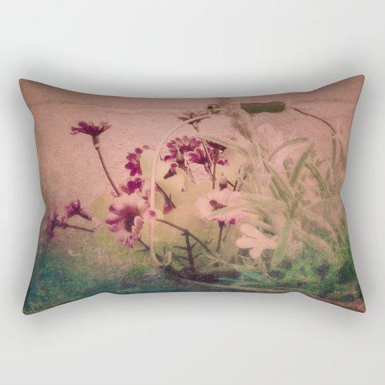 Floral Joy Rectangular Pillow