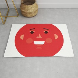 Explosion Face Rug