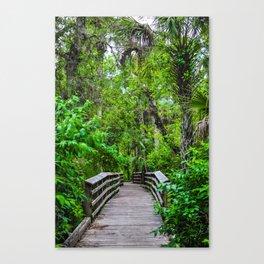 Tropical Stroll 417 Canvas Print