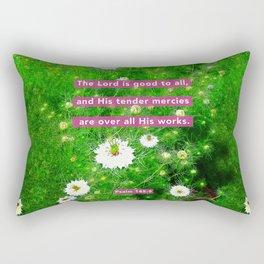 Tender Mercies Rectangular Pillow