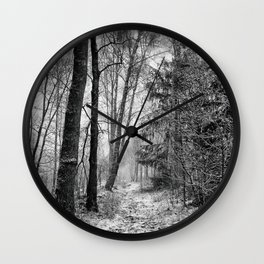 Winteress Wall Clock
