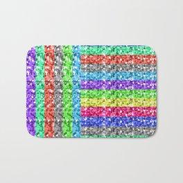 Pixelated colors Bath Mat