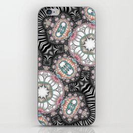 Abstract with controversial colors iPhone Skin