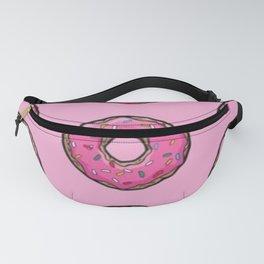 Pink Donut Sprinkles Fanny Pack