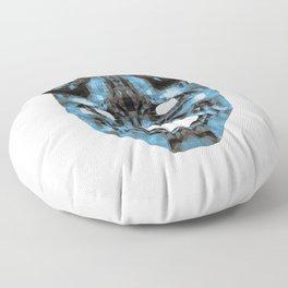 Hannya - low poly Floor Pillow