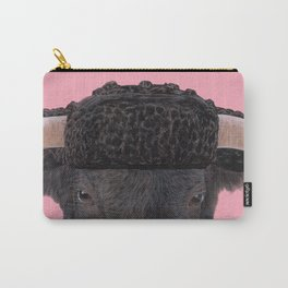 Spanish Bull Carry-All Pouch