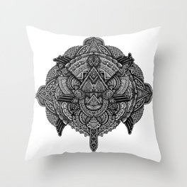 Ornation No.1 Throw Pillow