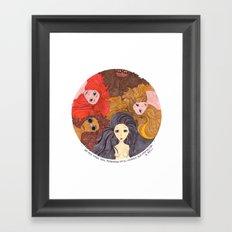 Giocondas Framed Art Print