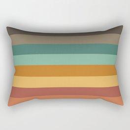 Embossed Stripes Rectangular Pillow