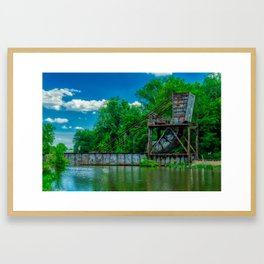 Richmond - James River Framed Art Print
