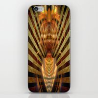 predator iPhone & iPod Skins featuring Predator by Robin Curtiss