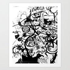 Waliamichael  Art Print