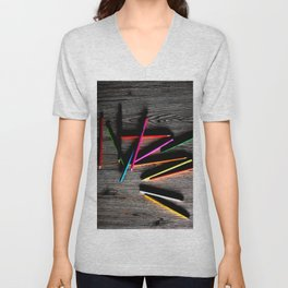 Colors and shadows Unisex V-Neck
