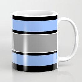 Team Colors 2...Light blue , gray Coffee Mug