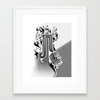 pi Framed Art Prints featuring PI by Artysmedia