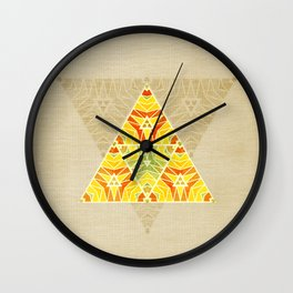 Summer Triangle Wall Clock