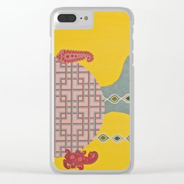 Macrophage Clear iPhone Case