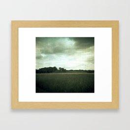 LIGHT ABOVE Framed Art Print