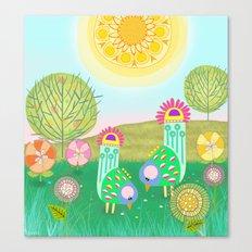 Chelsea Birds Canvas Print