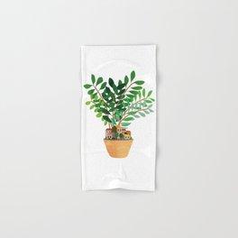 Plant Pot Village Hand & Bath Towel