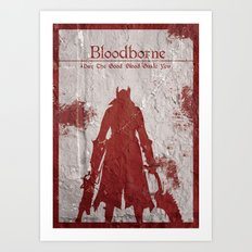 May The Good Blood Guide You Art Print