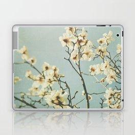 Magnolia blossoms. Mint Laptop & iPad Skin