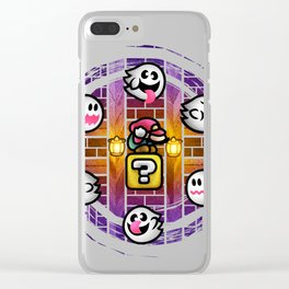 Boos in the Haunted House Clear iPhone Case
