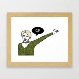 Clip Framed Art Print