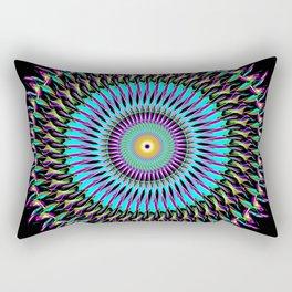 Spiral Art Design B2 Rectangular Pillow