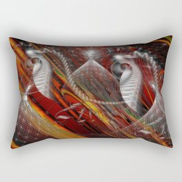From Within Optical Illusion Art Rectangular Pillow