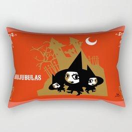 The Brujubulas Rectangular Pillow