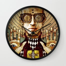 He-Joker Victima Incauta Requiem Playing Cards Wall Clock