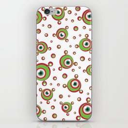 Justified Paranoia Holiday iPhone Skin