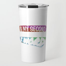 Friday Is My Second Favorite F Word Funny Sarcastic Work Working Gifts Travel Mug