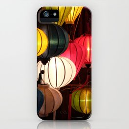 Colourful Lanterns of Hoi An, Vietnam iPhone Case