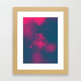 Lunar Haze Framed Art Print