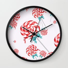 Lollies Wall Clock