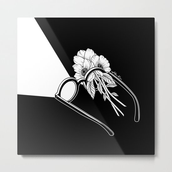 One Headlight Metal Print
