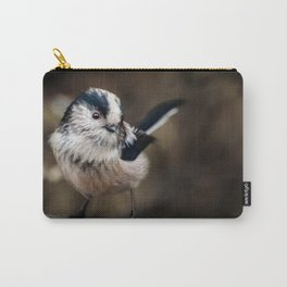 Fluffy The Long-Tailed Tit Carry-All Pouch