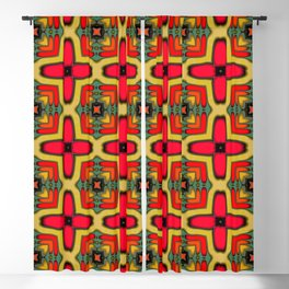 Southwest Pattern 3 Blackout Curtain