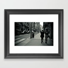 PonteYork Framed Art Print