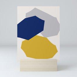 Abstraction_SHAPES_003 Mini Art Print