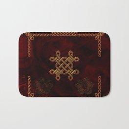 Celtic knote, vintage design Bath Mat