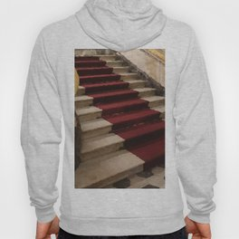 Stairs with red carpet Hoody