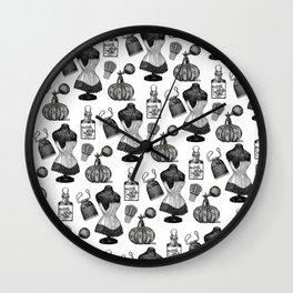 Victorian Wall Paper Wall Clock