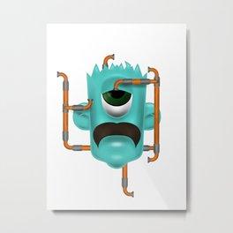 Cyclop Metal Print