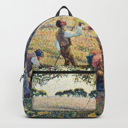 Camille Pissarro - Apple Harvest Backpack