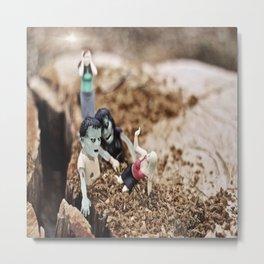Love Me Some Zombies | Scene I Metal Print