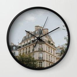 Paris Architecture Wall Clock